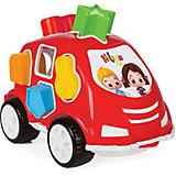 """Машинка с геометрическими фигурами """"Нилоя"""" Pilsan Shape Sorter Car"""