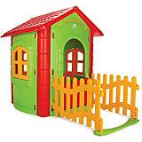 Игровой домик Pilsan Magic House, зеленый/красный