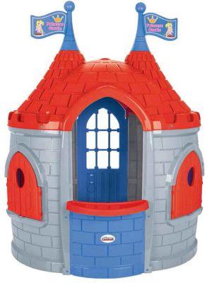 """Игровой домик Pilsan """"Замок принцессы"""", серо-красный"""