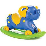 """Качалка-каталка Pilsan Rocking Elephant """"Слоник"""", с блокировкой, синяя"""