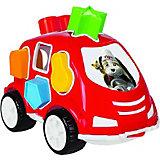 Машинка с кубиками Pilsan Smart Shape Sorter Car, красная