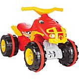 Квадроцикл-каталка Pilsan Cengaver, красный