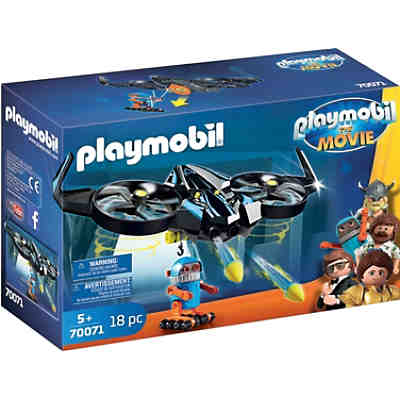 PLAYMOBIL®70071 THE MOVIE Robotitron mit Drohne
