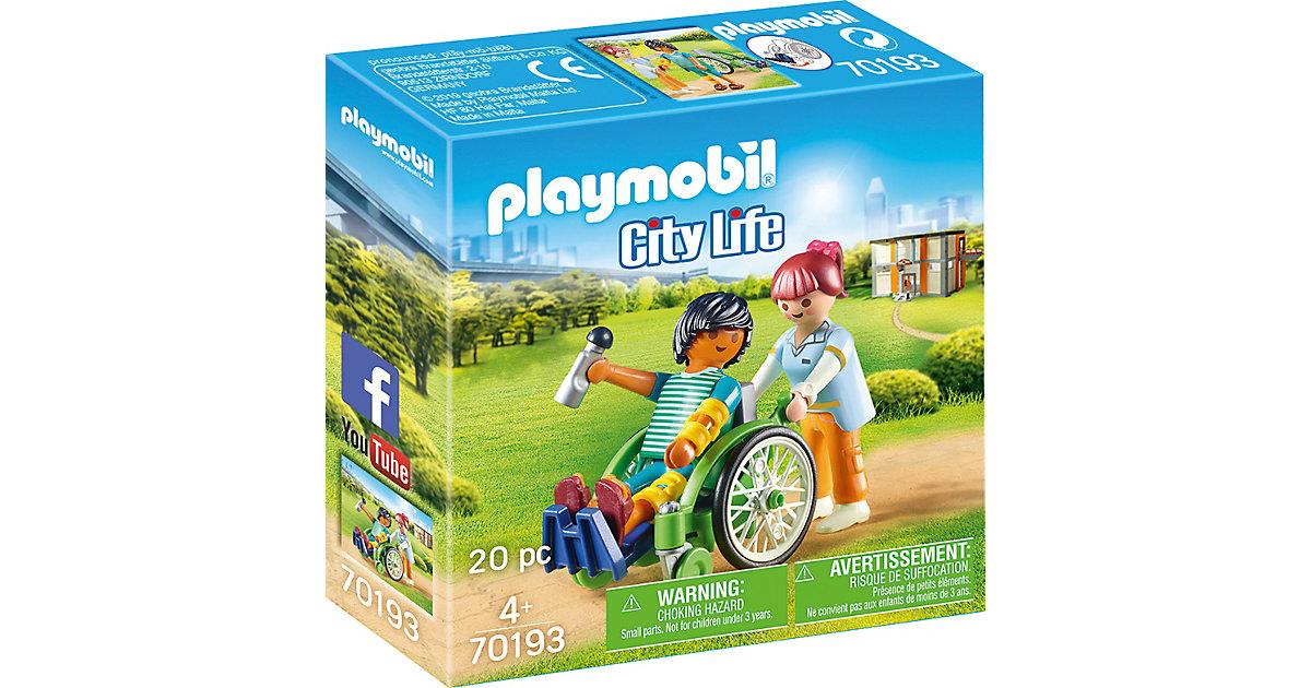 PLAYMOBIL® 70193Patient im Rollstuhl