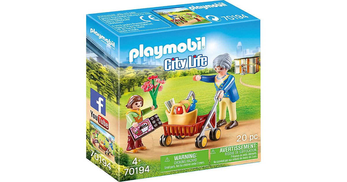 PLAYMOBIL® 70194 Oma mit Rollator