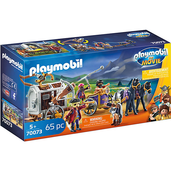 PLAYMOBIL®70093 THE MOVIE Charlie mit Gefängniswagen