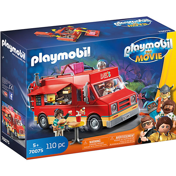PLAYMOBIL® 70075 THE MOVIE Del's Food Truck