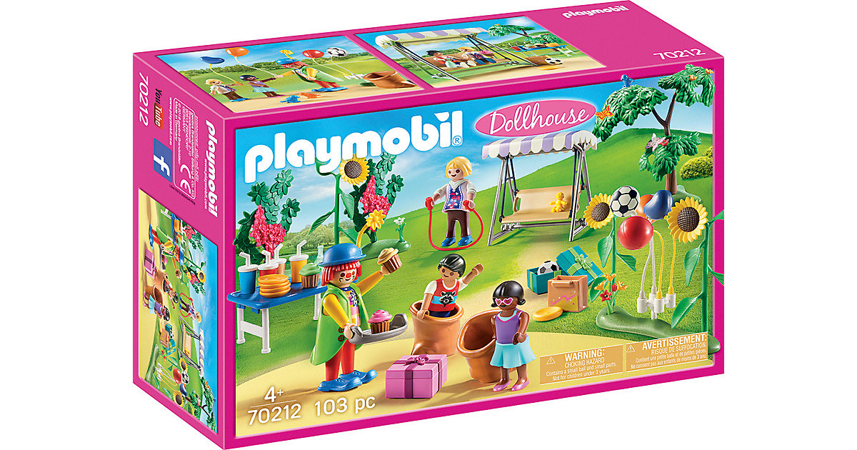 PLAYMOBIL® 70212 Kindergeburtstag mit Clown