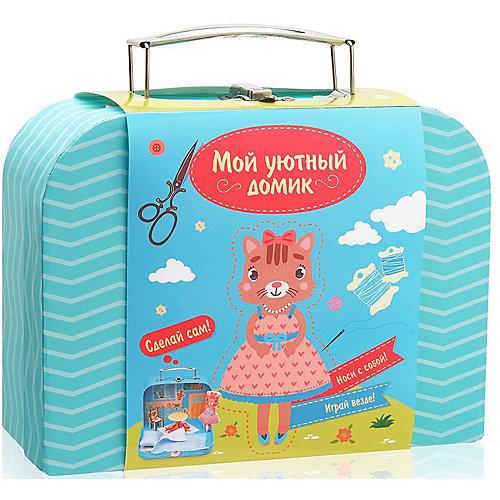 """Набор для творчества Мой уютный  домик """"Кошечка"""" от Бумбарам"""