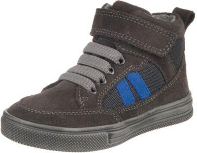 Richter Kinder Halbschuhe Sneaker blau Blinkies Velourleder Jungen Schuhe 6543 832 6901 FitMI cobalt Ola