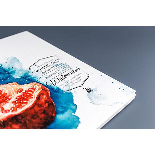 Склейка для акварели Малевичъ White Swan, 250 г/м, 24х23 см, 20 листов от Малевичъ