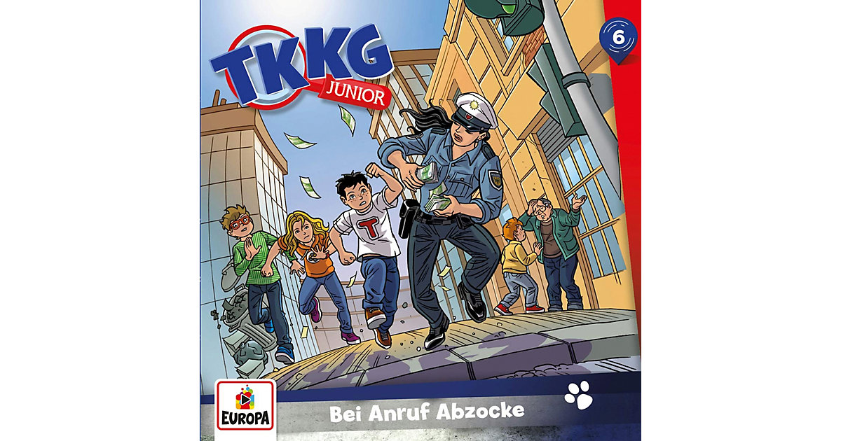 CD TKKG Junior 6 - Bei Anruf Abzocke Hörbuch