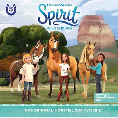 CD Spirit,wild und frei 5 - Luckys super-toller Cousin Julian