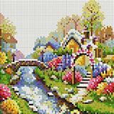 Алмазная мозаика Белоснежка Лето, 20х20 см