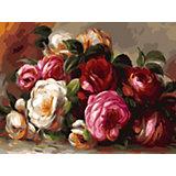 Живопись на холсте Белоснежка Розы Ренуара, 30х40 см