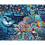 Картина по номерам Белоснежка Индиго кот, 40х50 см