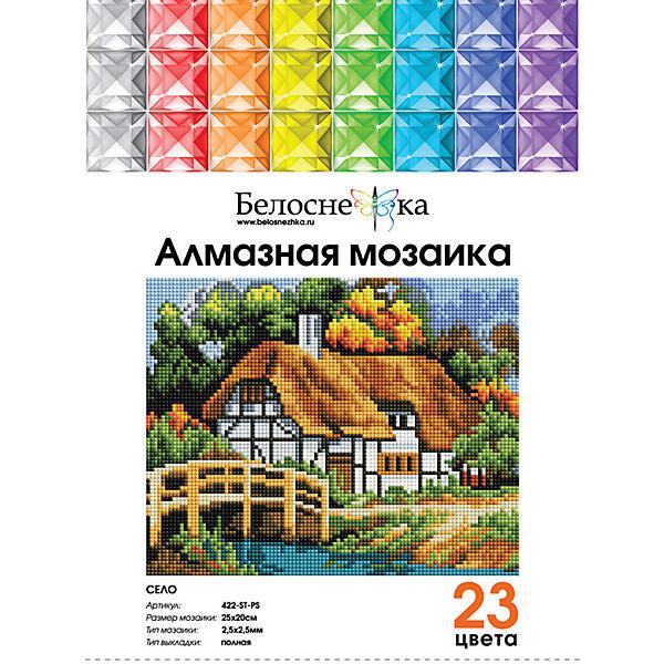 Мозаичная картина Белоснежка Село, 20х25 см