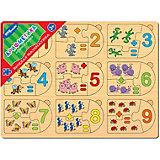 """Игра из дерева STEP puzzle """"Весёлая математика"""", Арифметика"""