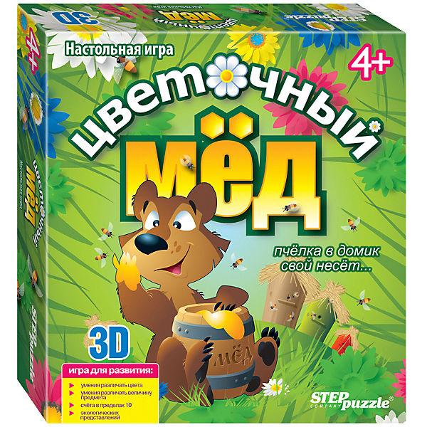 """Настольная игра STEP puzzle """"Цветочный мёд"""""""