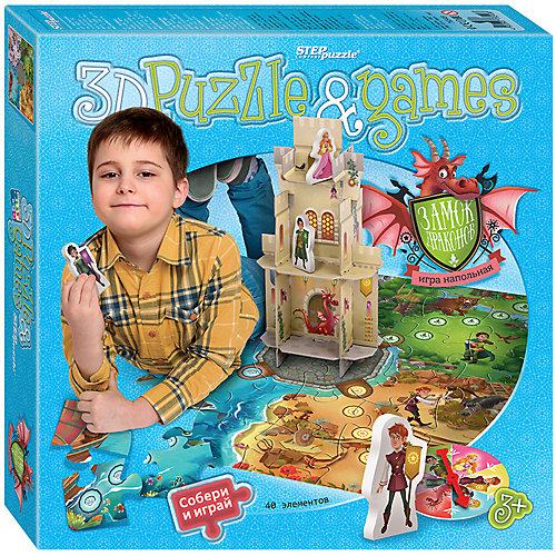 """Настольная игра STEP puzzle """"Замок драконов"""" от Степ Пазл"""