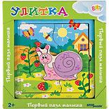 Игра из дерева STEP puzzle Baby Step, Улитка