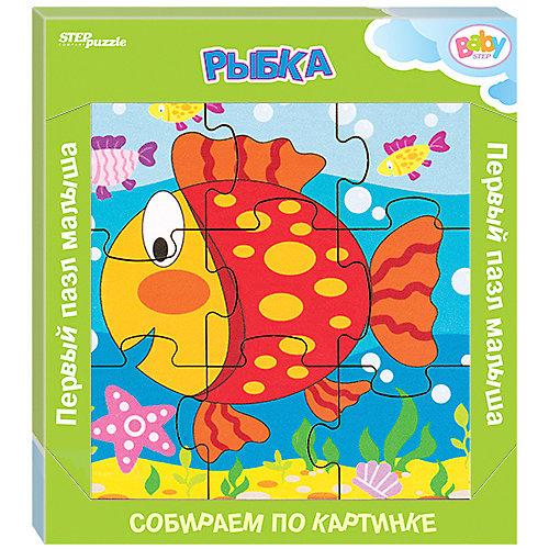 Игра из дерева STEP puzzle Baby Step, Рыбка от Степ Пазл