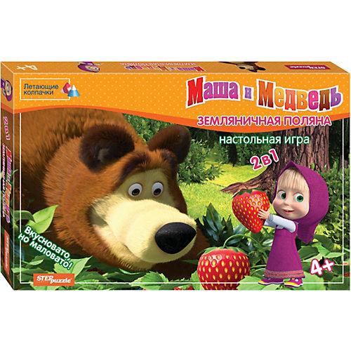 """Настольная игра STEP puzzle """"Маша и Медведь"""", Земляничная поляна от Степ Пазл"""