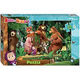 "Мозаика STEP puzzle maxi 24 ""Маша и Медведь - 2"""