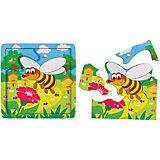 Игра из дерева STEP puzzle Baby Step, Пчёлка