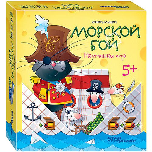 """Настольная игра STEP puzzle """"Кошки-мышки"""", Морской бой от Степ Пазл"""