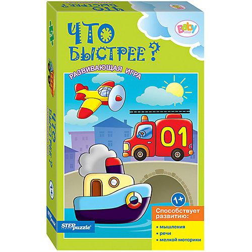 Развивающая игра STEP puzzle Baby Step, Что быстрее? от Степ Пазл