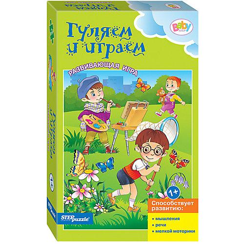 Развивающая игра STEP puzzle Baby Step, Гуляем и играем