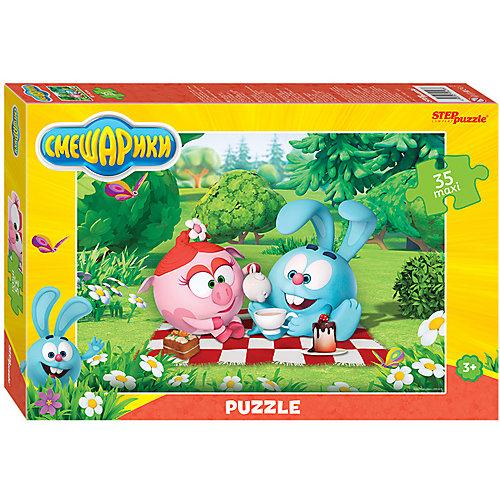 """Мозаика STEP puzzle 35 MAXI """"Смешарики"""" от Степ Пазл"""