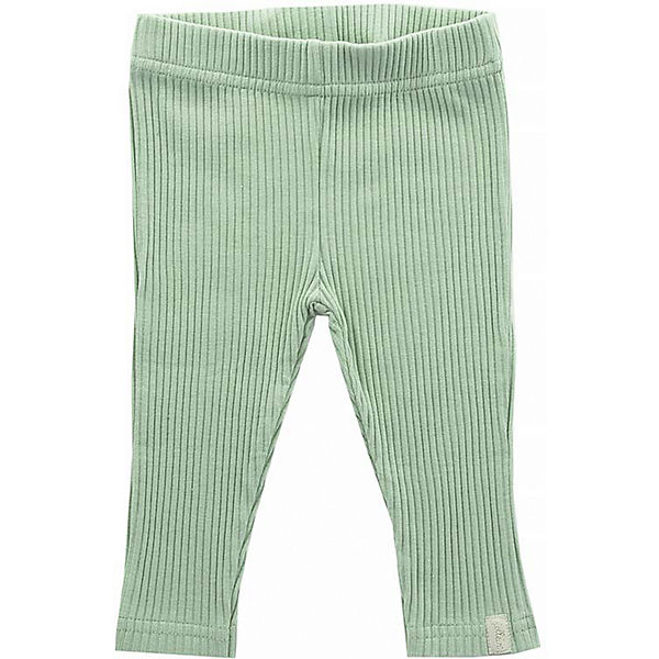 Baby Leggings Rippenstoff, forest green, Gr. 74/80