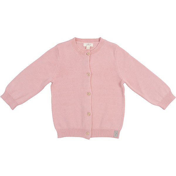 Baby Strickjacke, blush pink, Gr. 74/80