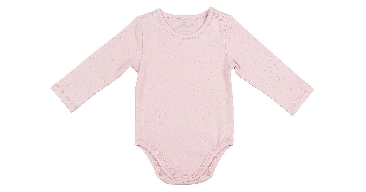 Baby Langarmbody Pünktchen rosa Gr. 74/80 Mädchen Baby
