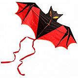 """Воздушный змей Bradex, """"Летучая мышь"""", красный"""