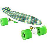 "Скейтборд PWSport Grip ""3D"", зеленый"