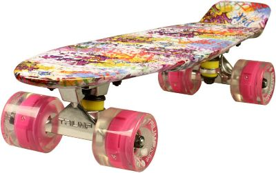 Скейтборд Triumf Active Sweety, фиолетовый