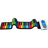 Гибкое пианино SpeedRoll, синий