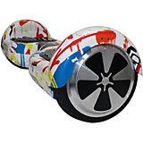 """Гироскутер SpeedRoll Premium Smart """"Граффити"""", зеленый"""