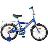 "Велосипед Novatrack Twist 12"", синий"