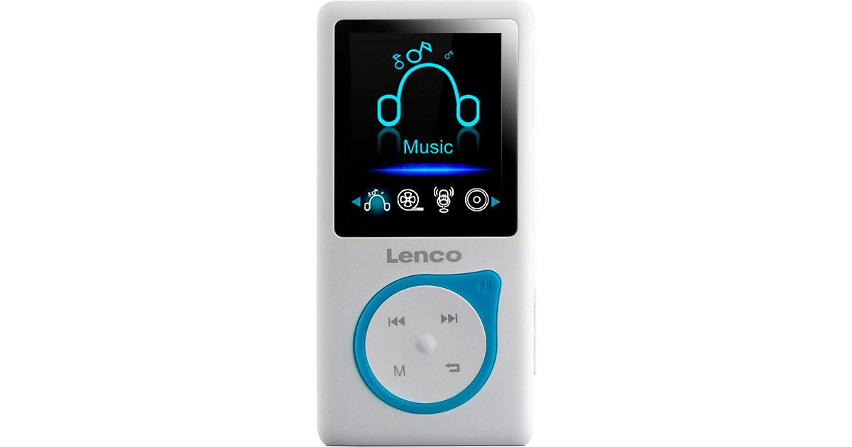 Xemio-668 Blau - MP3-/MP4-Player mit 8GB Speicher, Farbdisplay und integriertem Akku blau