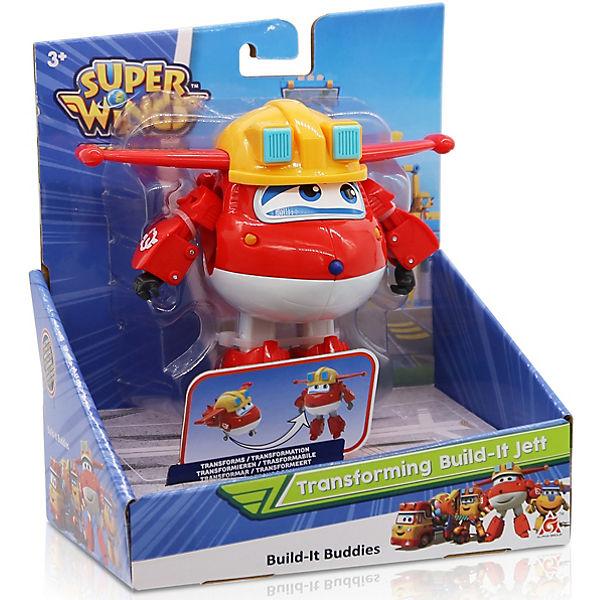 "Трансформер Gulliver Super wings ""Команда Строителей"", Джетт"