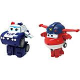 """Игровой набор мини-трансформеры Gulliver Super wings """"Команда Полиции"""", Джетт Пол"""