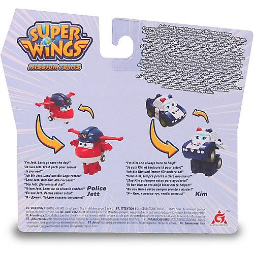 """Игровой набор мини-трансформеры Gulliver Super wings """"Команда Полиции"""", Джетт Пол от Gulliver"""