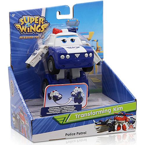 """Трансформер Gulliver Super wings """"Команда Полиции"""", Ким от Gulliver"""