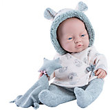 Кукла Paola Reina Бэби, с полотенцем и звездочкой, 45 см