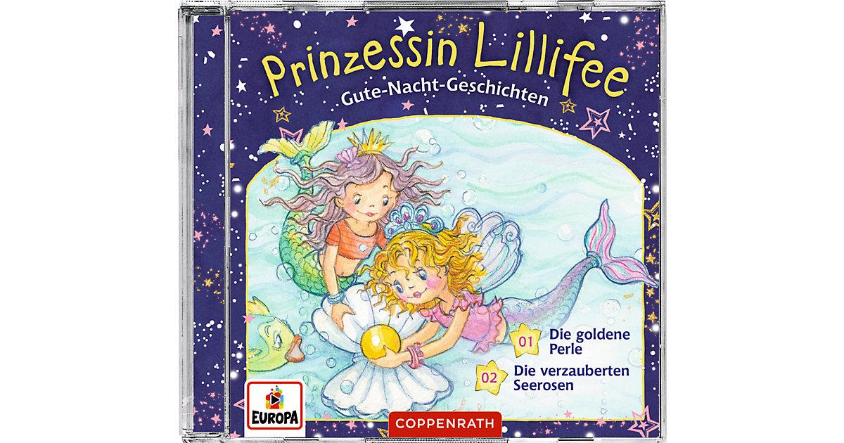 CD Gute-Nacht-Geschichten mit Prinzessin Lillifee 1+2 Hörbuch