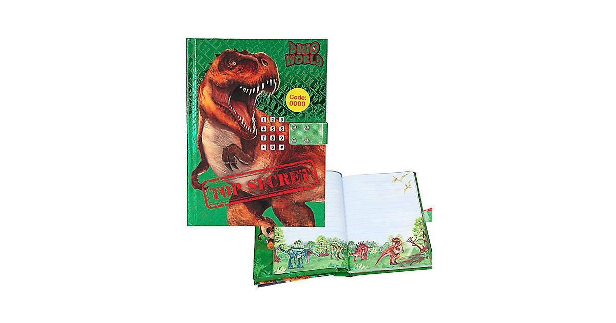 Depesche · Dino World Geheimcode Tagebuch mit Sound